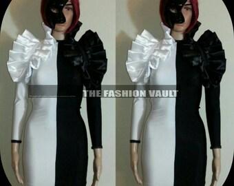Phantom of the opera Ringmaster Burlesque bolero wrap and bodycon dress Steampunk Cosplay Lolita Behance
