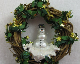 Snowman Christmas Ornament - Let It Snow 408