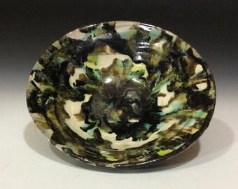 Camo colored bowl 1