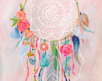 Dreamcatcher Blush PRINT
