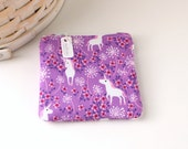 Unicorn Coin Purse Purple Change Purse Unicorn Gift Card Holder