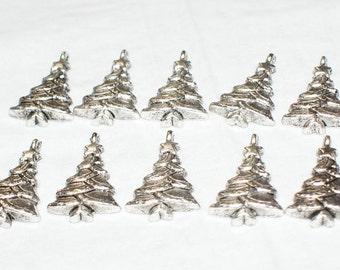 10 Christmas Tree Charms