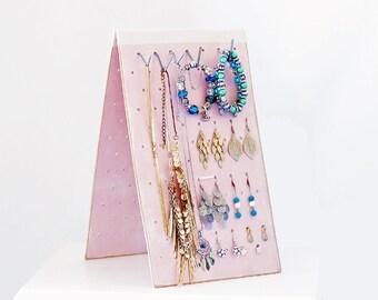 JEWELRY STAND Earring Holder Earring Storage Jewelry Organizer Bracelet Holder, Jewellery Stand Necklace Holder Jewellery Travel Organizer