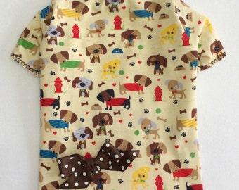 A Happy Life Dog Shirt Clothes Size XXXS through Medium by Doogie Couture