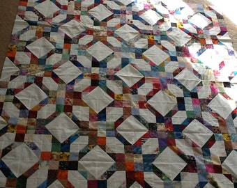 Scrappy Quilt Top-unfinished