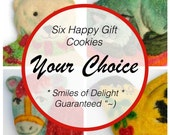Your Choice Of Six Hand Crafted Sugar Cookies!