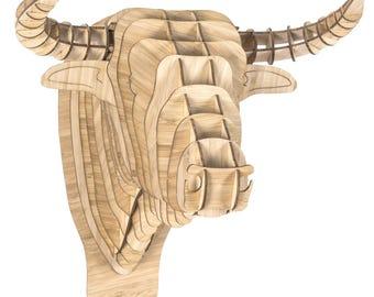 Toro Bamboo Bull Head - XL