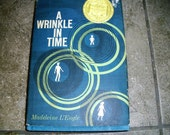 Vintage Book A Wrinkle In Time by Madelaine L'Engle