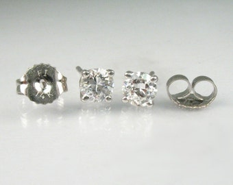 Old European Cut Diamond Earrings – 0.50 Carats Diamond Total Weight – New Condition