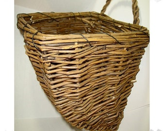 Willow Storage Basket/ Single / Home Decor/ Craft Supplies*
