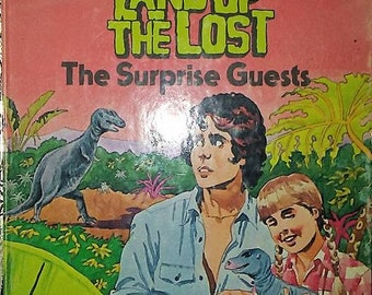 1975 Little Golden Book Land of the Lost Book