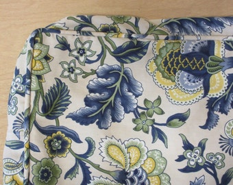 """Bench Seat Cushion Cover,34.5"""" x 16"""" x 3"""",Your Fabric Selection Used,Includes Piping and Zipper, You Pay Shipping."""