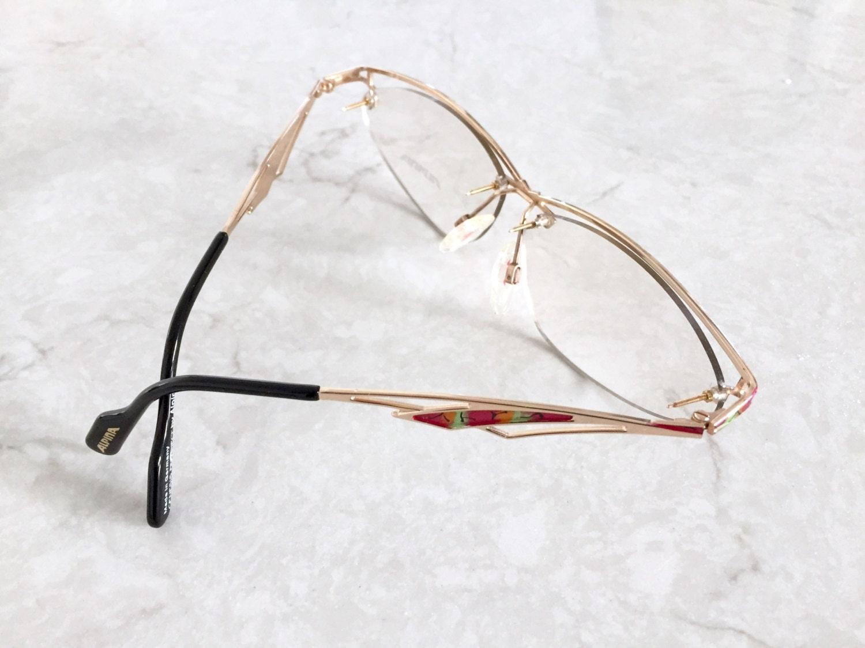 Alpina Eyeglasses / 80\'s German High Quality Eyeglass Frames Never ...