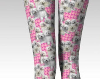 Bolognese Dog Leggings