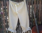 Custom order for Dana Oxley -Custom Organic Linen Bloomers