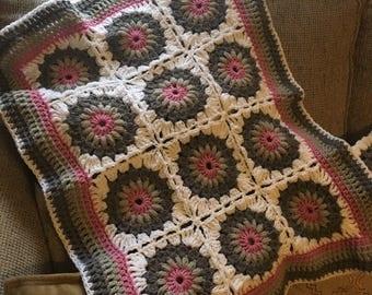 Crocheted Doll Blanket