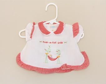 Rock A Bye Baby Dress- newborn/ 0-6 months