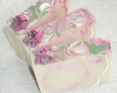 Magnolia Soap / Sweet Spring Floral Soap / Mothers Day Gift / Cold Process Handmade Soap