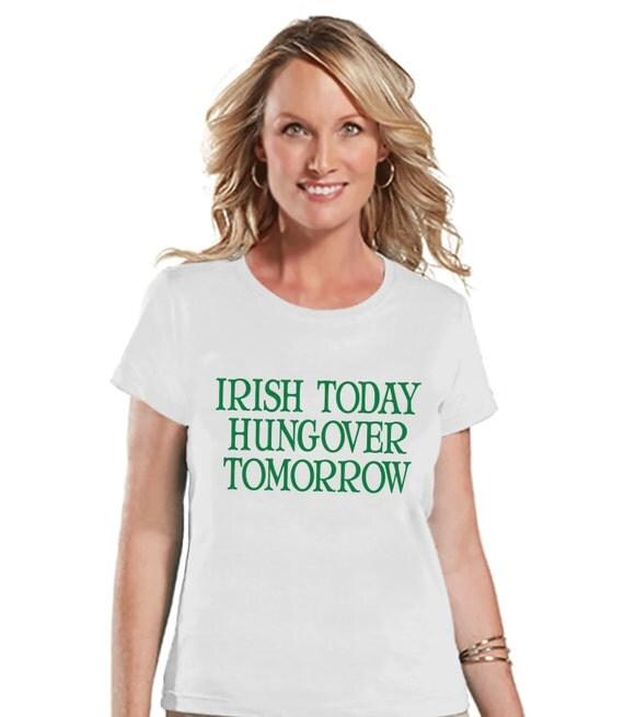 St Patricks Day Shirt Funny Women 39 S Drinking Shirts