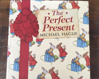 The Perfect Present by Michael Hague, Vintage Children's Book, Children's Illustrations, Christmas Book, Gift Book, Collectible Book