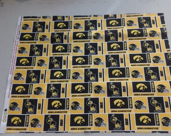 University of Iowa Hawkeyes Fabric 247448