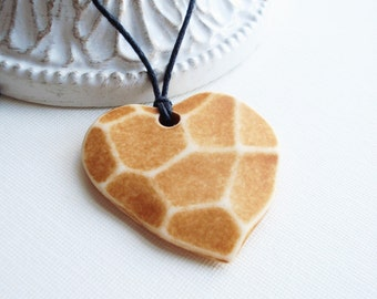 Heart Necklace, Honey Necklace, Honeycomb Necklace, Sweetheart Necklace, Honeycomb Pendant, Mother Necklace, Christmas Gift for Her