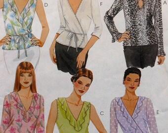 Top Sewing Pattern UNCUT McCalls 3111 Sizes 4-14