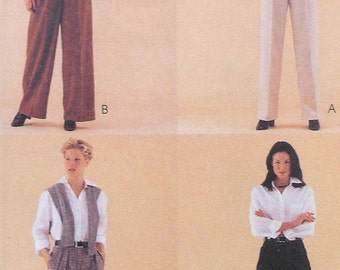 Pants and Shorts Sewing Pattern UNCUT McCalls 9550 Size 16