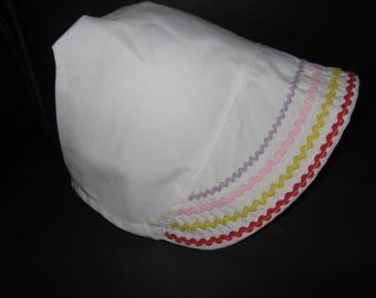 Summer Ric Rac Bonnet
