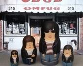 MINI Ramones Matryoshka Dolls
