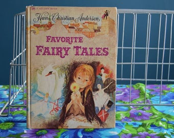 Vintage Children's Book - Favorite Fairy Tales - Copyright 1974