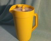 Sunny Yellow 2 Quart Tupperware Beverage Pitcher