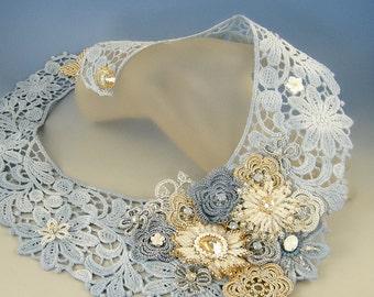 Lace&Fun, romantic necklace OOAK