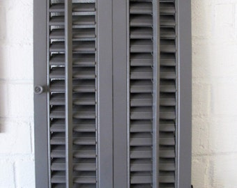 Grey Antique Shutter
