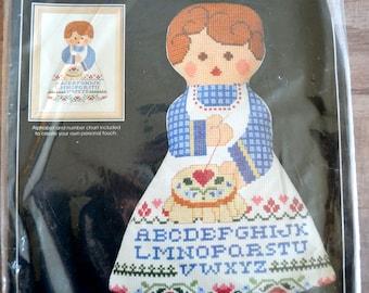 Alice Peterson Counted Cross Stitch Doll Best Friends Cross Stitch Kit NIP