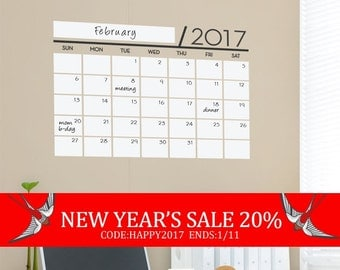 New Year S Sale Weekly Planner Chalkboard By Simpleshapes