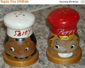 Vintage Salt Pepper Shakers Kitchen Tableware