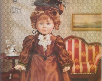 Vogue Doll Collection 683 / Out Of Print Sewing Pattern By Linda Carr / Victorian Style Dress / 18 Inch Doll Clothes