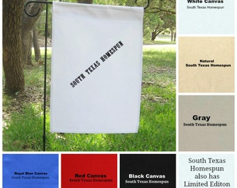 Blank burlap flags Etsy