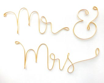 Personalized Wedding Photo Props, Mr and Mrs photo props, custom name photo props