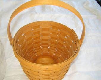 Longaberger Basket Basket Fruit Basket, Key Basket, Collector Baskets, Home Decor, Storage Baskets, Wooden Basket