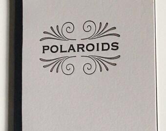 Letterpress printed Polaroid album