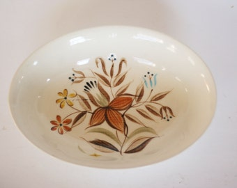 vintage romany kenedai serving bowl hand painted
