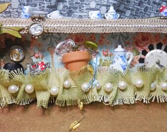 Alice's Secret Garden Shadow Box