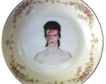 """Bowie Portrait Bowl  5.5"""""""