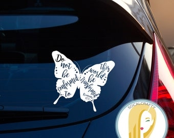 Butterfly Decal Etsy - Butterfly vinyl decals