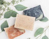 ON SALE 10 pack - All Natural Handcrafted Vegan Soap