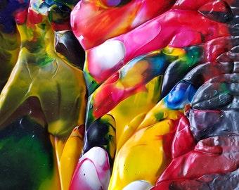 Spirit Song Original Abstract Acrylic Painting