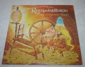 """Vintage Vinyl LP Record Album """" Rumpelstiltskin """" The Terrytowne Players 1977"""