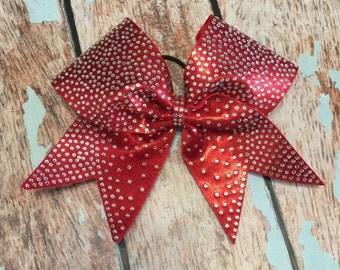 Full Rhinestone Cheer bow